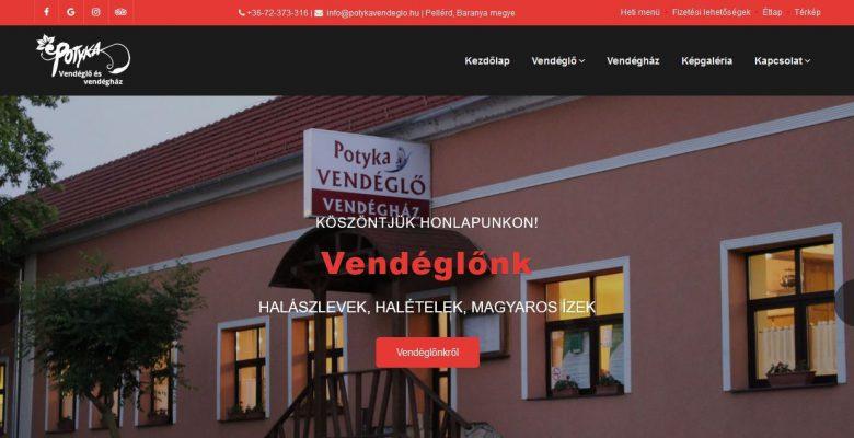 A kiváló magyaros ételeiről ismert pellérdi Potyka vendéglő és vendégház egy korszerű, informatív, reszponzív honlap kialakításával bízott meg. Az elkészült…